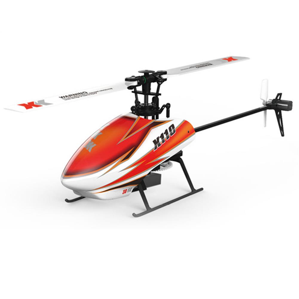 rc-helicopters XK K110 Blast 6CH Brushless 3D6G System RC Helicopter BNF With 4 Pcs Battery RC1390387 2