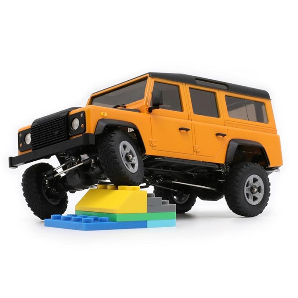 rc-cars Orlandoo-Hunter OH32A03 1/32 DIY Kit Unpainted RC Rock Crawler Car Without Electronic Part RC1392233 2