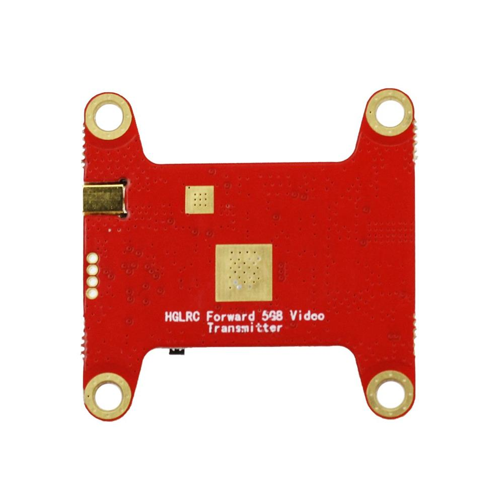 multi-rotor-parts HGLRC Forward VTX 5.8G 48CH 25/50/100/200/400MW Switchable FPV Transmitter For Racing RC Drone RC1393734 3