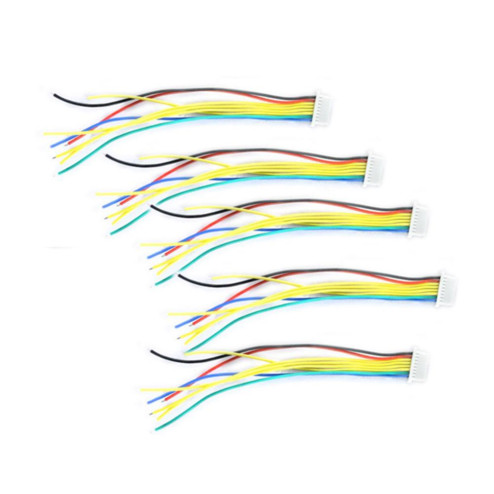 multi-rotor-parts 10 PCS FLYWOO 8 Pins SH1.0 8cm Silicone Wire for RC Drone FPV Racing Multi Rotor RC1394726