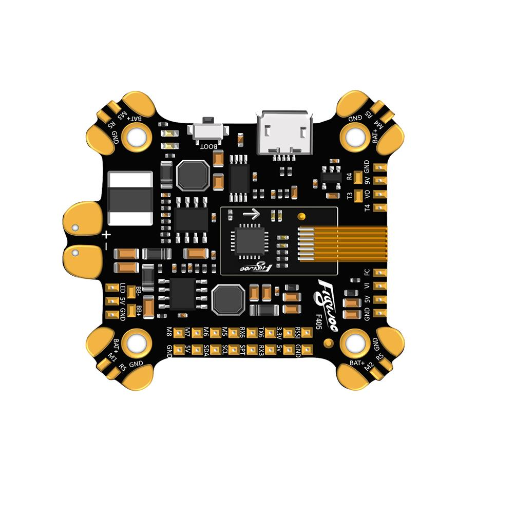 multi-rotor-parts FLYWOO F405 F4 AIO Flight Controller ICM20689 Built In OSD 5V 9V 2A BEC 3-8S For FPV Racing RC Drone RC1394747 8