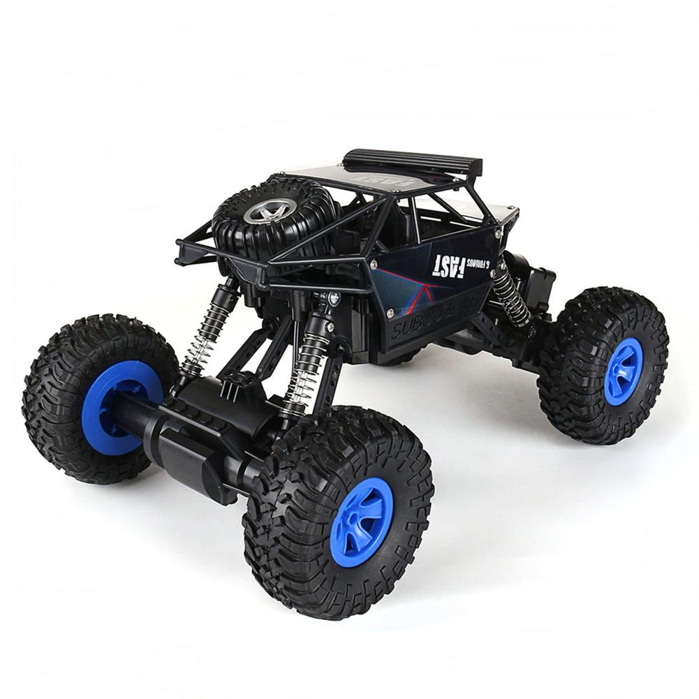 rc-cars Ruibo Toys 1/16 2.4G 4WD Rc Car Alloy Shell Monster Off-road Truck RTR Vehicle RC1395151 1