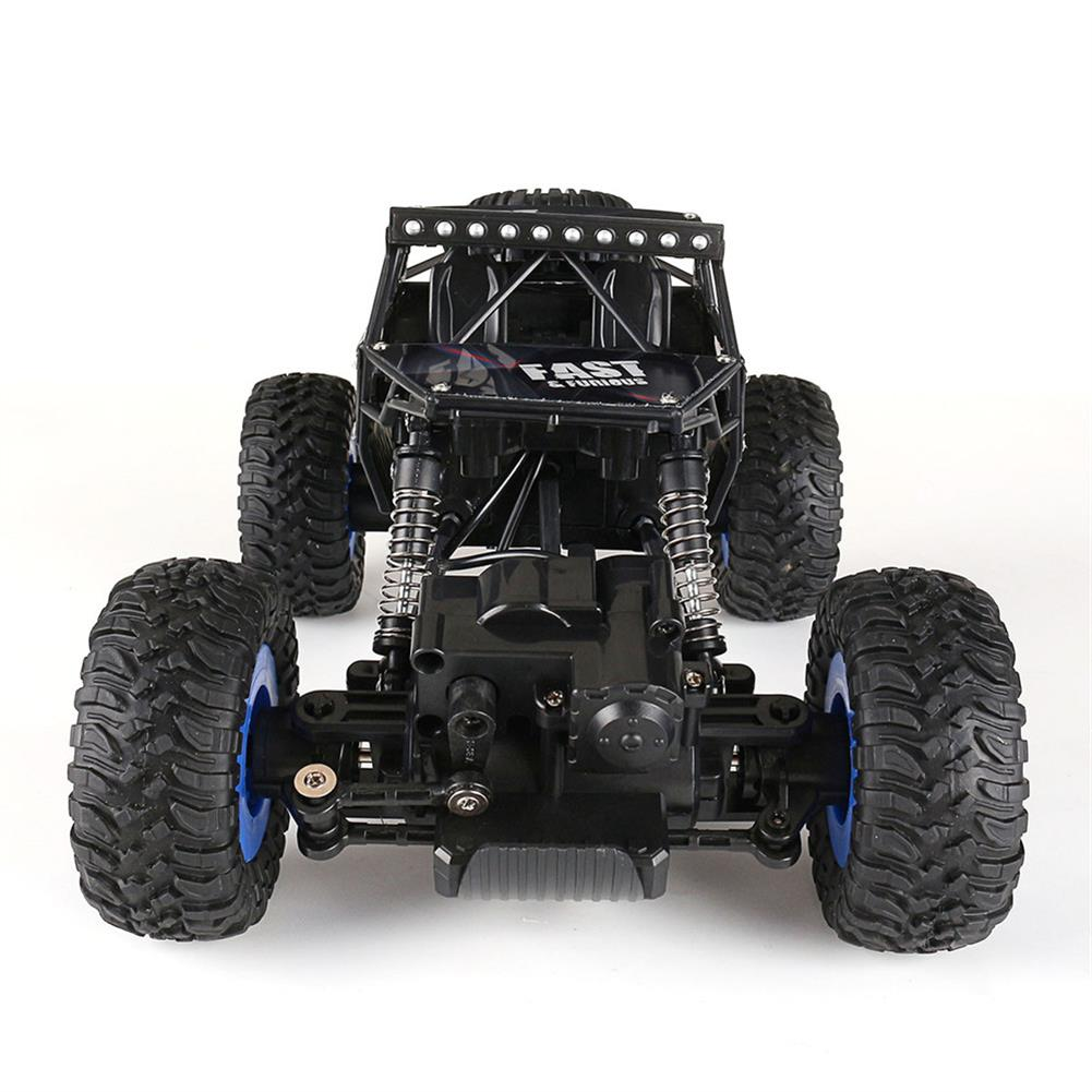 rc-cars Ruibo Toys 1/16 2.4G 4WD Rc Car Alloy Shell Monster Off-road Truck RTR Vehicle RC1395151 4