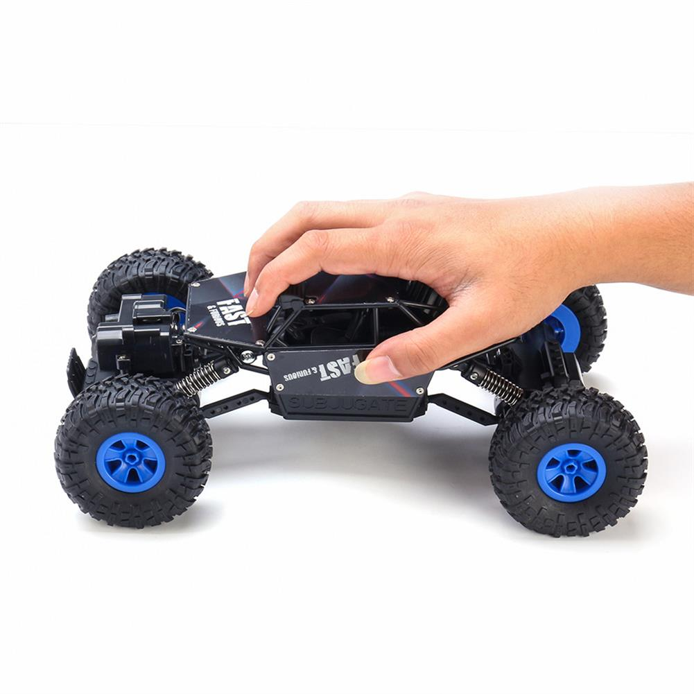 rc-cars Ruibo Toys 1/16 2.4G 4WD Rc Car Alloy Shell Monster Off-road Truck RTR Vehicle RC1395151 7