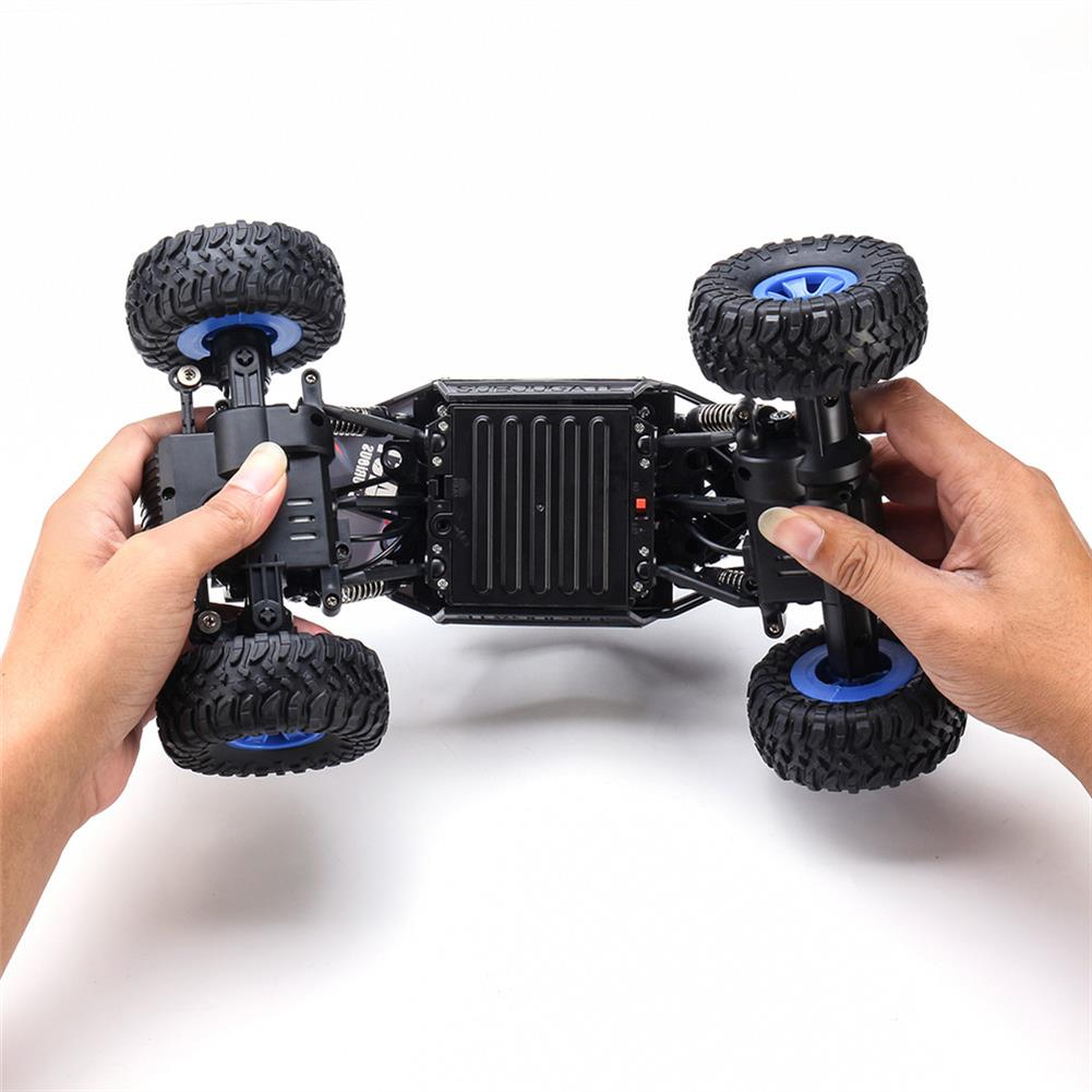 rc-cars Ruibo Toys 1/16 2.4G 4WD Rc Car Alloy Shell Monster Off-road Truck RTR Vehicle RC1395151 8
