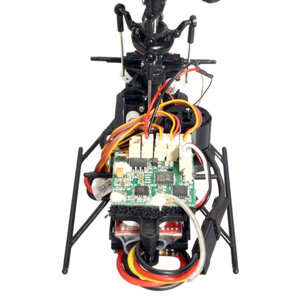 rc-helicopters XK K110 Blast 6CH Brushless 3D6G System RC Helicopter BNF with 5PCS 520mAh Upgraded Battery RC1395311 5