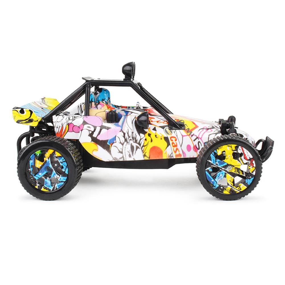 rc-cars 1811 1/20 2WD Graffiti Version 2.4GHz High-speed Racing Vehicle Off-Road Drift RC Car Toys RC1395326 1
