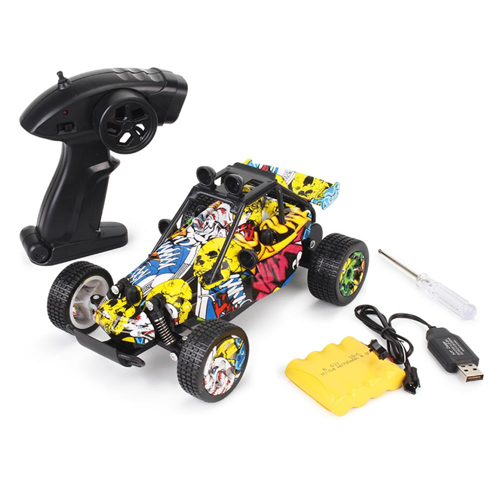 rc-cars 1811 1/20 2WD Graffiti Version 2.4GHz High-speed Racing Vehicle Off-Road Drift RC Car Toys RC1395326 4