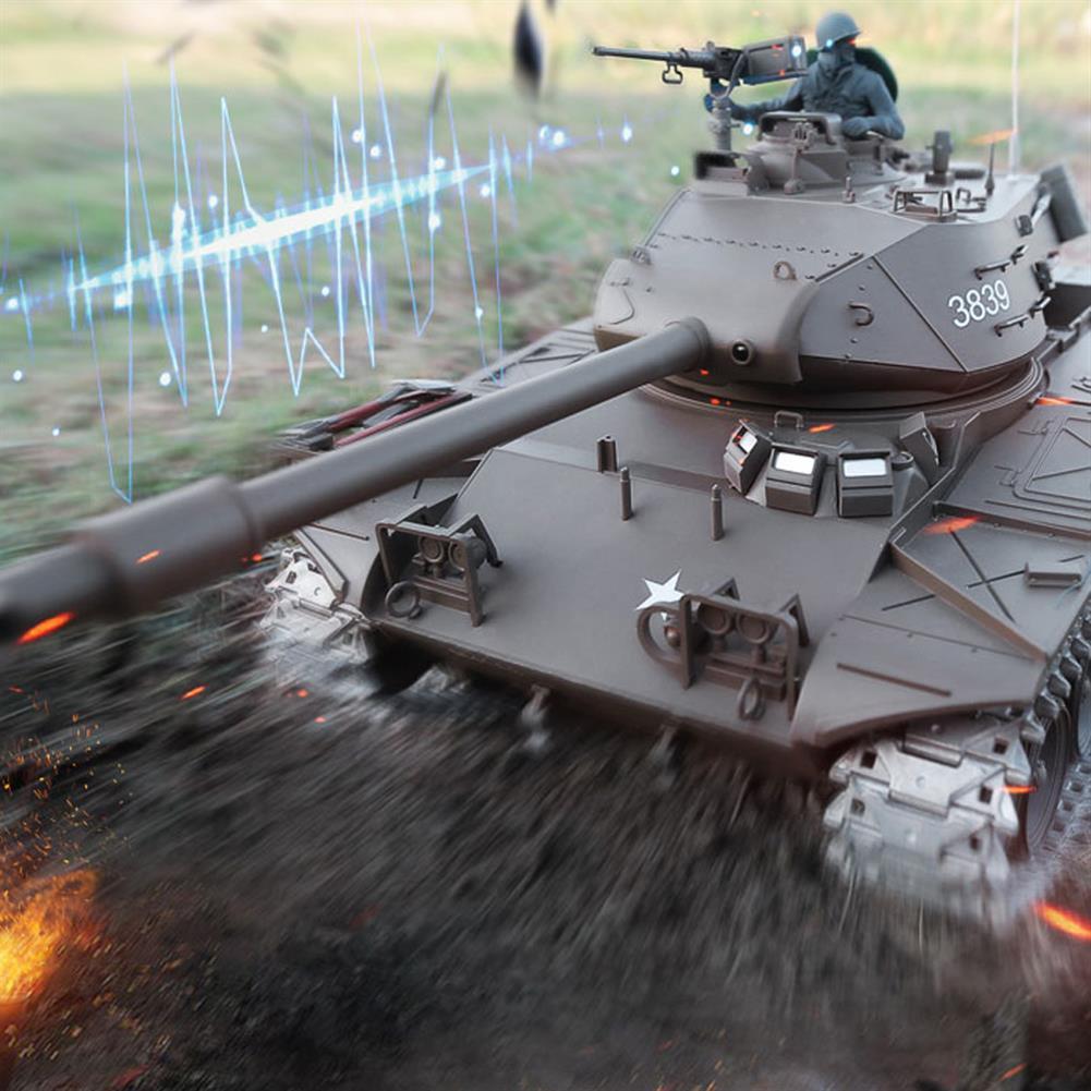 rc-cars Heng Long 1/16 3839-1 2.4G U.S. M41A3 Wacker Bulldog RC Tank RC1397806 8