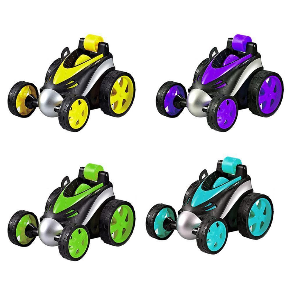 rc-cars 1PC 1/24 Radio Control Stunt Rc Car 360 Degree Rotation Tumbling Truck Random Color W/ O Battery RC1398035 1