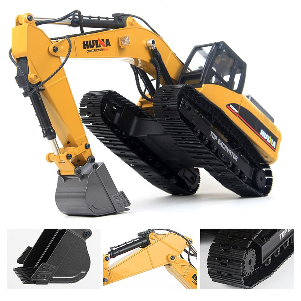 rc-cars HUINA 580 Excavator RC Car Toys Styling 23 Channel Road Construction All Metal Truck Autos RC1398609 1