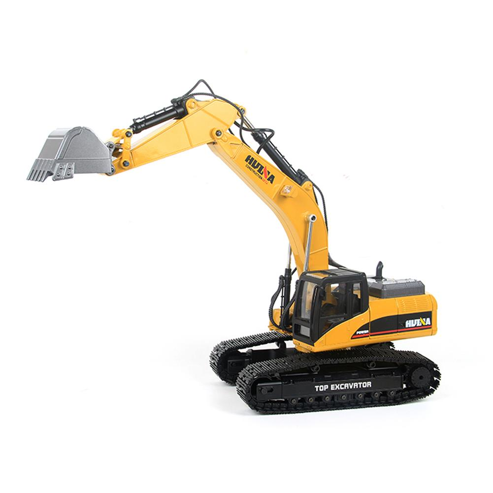 rc-cars HUINA 580 Excavator RC Car Toys Styling 23 Channel Road Construction All Metal Truck Autos RC1398609 2