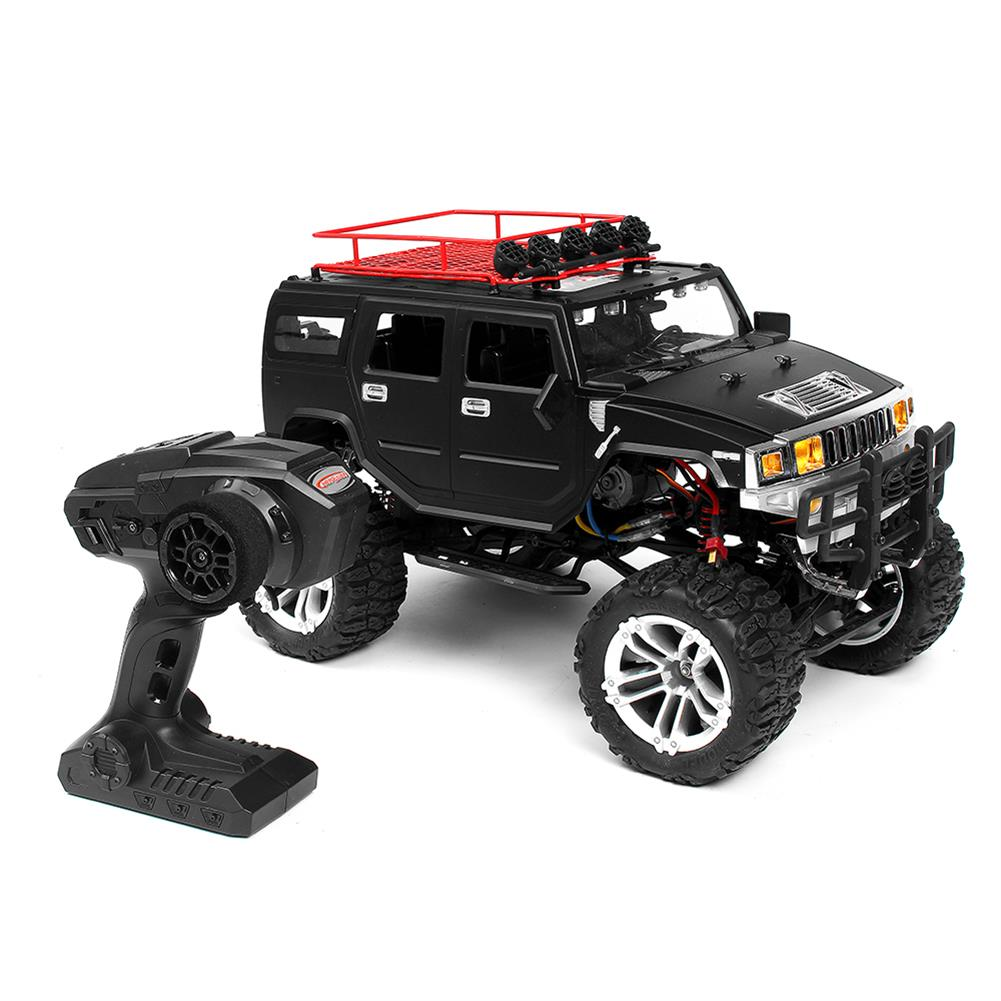 rc-cars HG P403 1/10 2.4G 4WD 20km/h Black Color Rc Car Rock Crawler Off-road Truck RTR Toy RC1402346 1