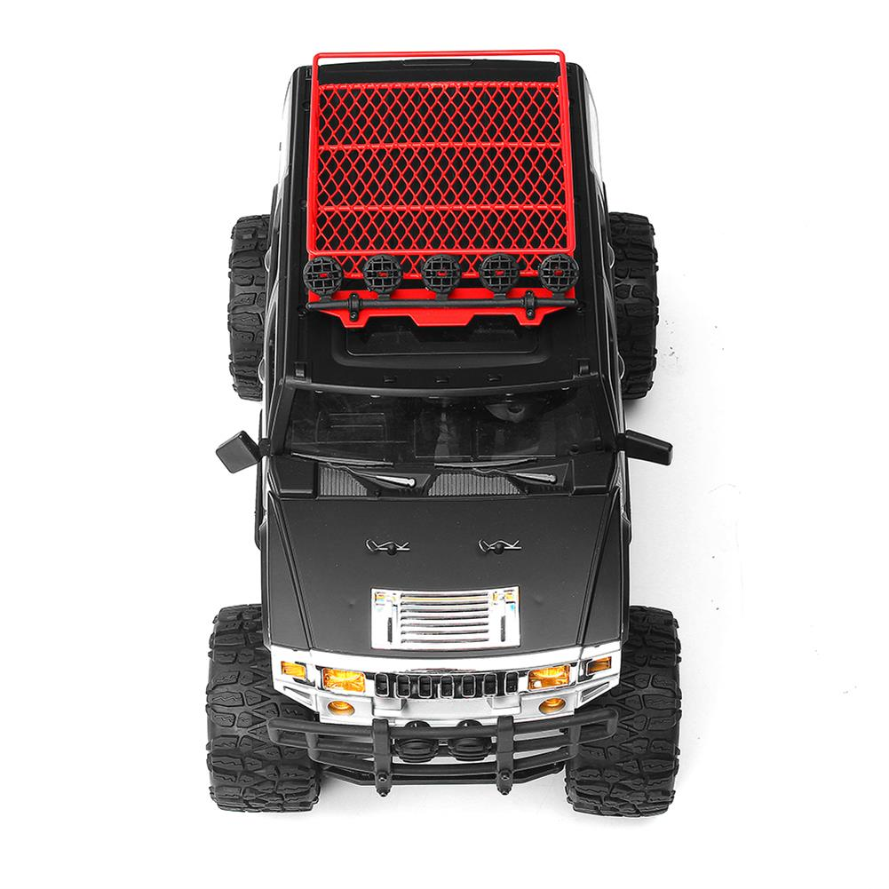 rc-cars HG P403 1/10 2.4G 4WD 20km/h Black Color Rc Car Rock Crawler Off-road Truck RTR Toy RC1402346 5