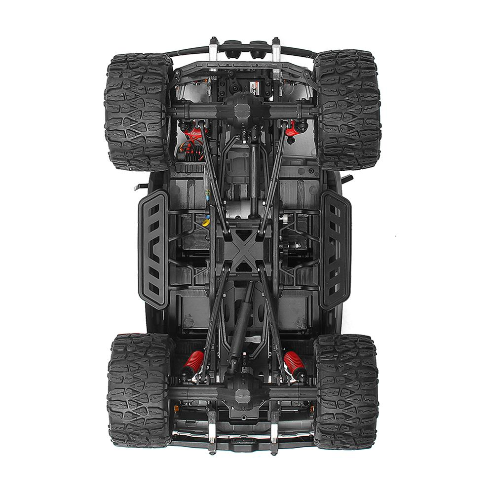 rc-cars HG P403 1/10 2.4G 4WD 20km/h Black Color Rc Car Rock Crawler Off-road Truck RTR Toy RC1402346 6