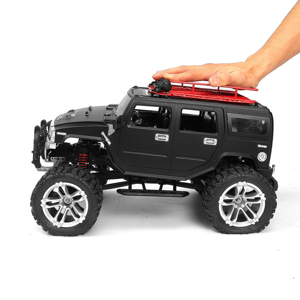 rc-cars HG P403 1/10 2.4G 4WD 20km/h Black Color Rc Car Rock Crawler Off-road Truck RTR Toy RC1402346 8