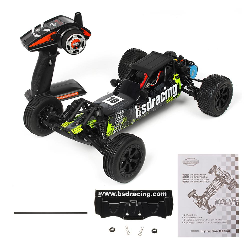 rc-cars CR709R 2.4G 2CH 1/10 2WD Brushless Waterproof BL EP Off-Road Racing Baja RC Car High Speed 70km/h RC1402548 2