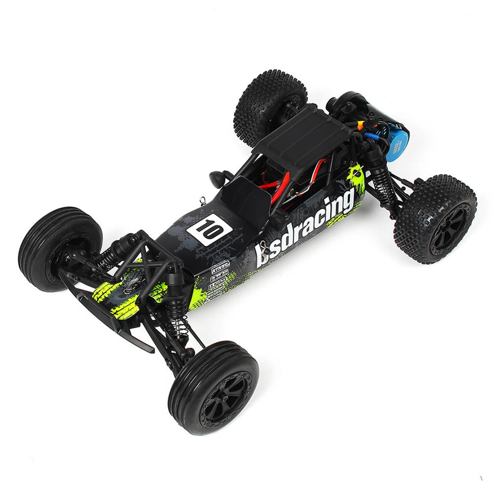 rc-cars CR709R 2.4G 2CH 1/10 2WD Brushless Waterproof BL EP Off-Road Racing Baja RC Car High Speed 70km/h RC1402548 4