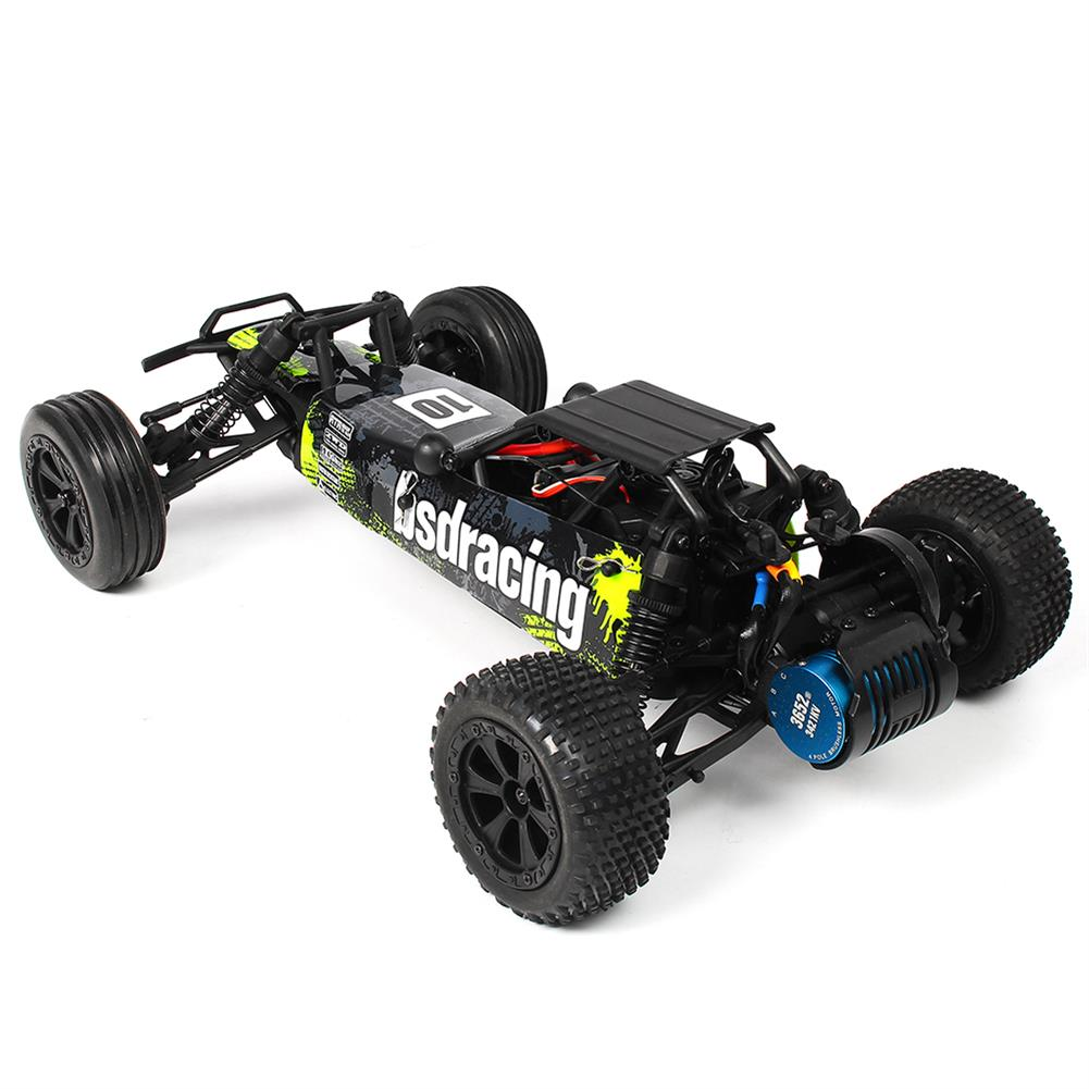 rc-cars CR709R 2.4G 2CH 1/10 2WD Brushless Waterproof BL EP Off-Road Racing Baja RC Car High Speed 70km/h RC1402548 5