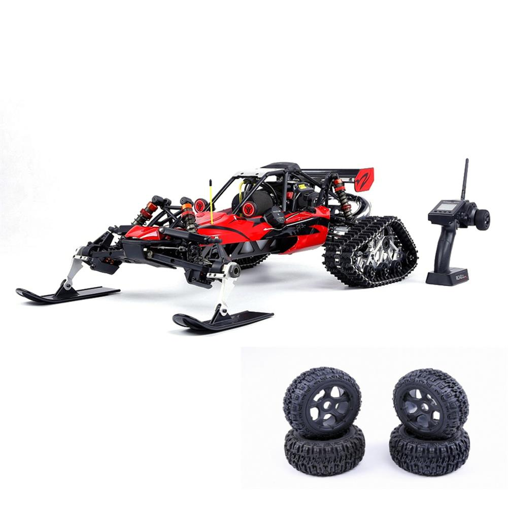 rc-cars Rovan Baja305AS 1/5 2.4G RWD Snow Buggy Rc Car 30.5cc Engine With Tracked + Round Wheels RTR Toy RC1403120