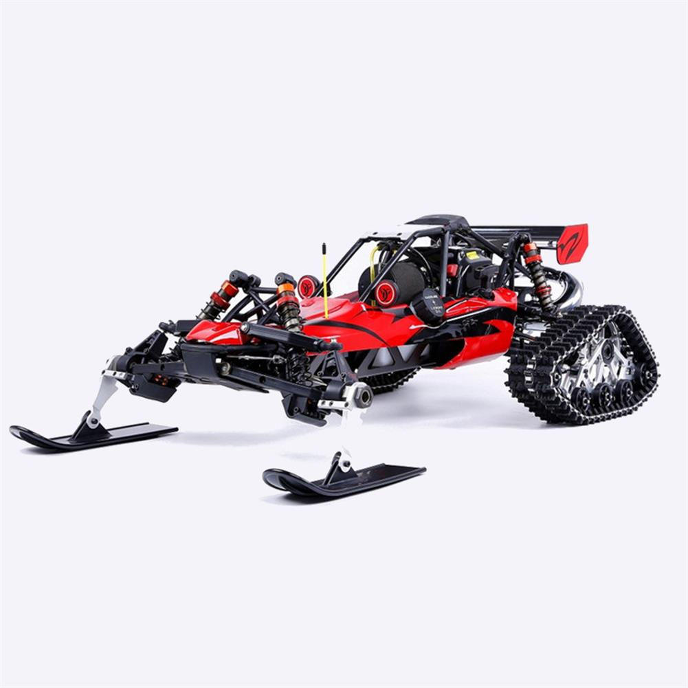 rc-cars Rovan Baja305AS 1/5 2.4G RWD Snow Buggy Rc Car 30.5cc Engine With Tracked + Round Wheels RTR Toy RC1403120 2