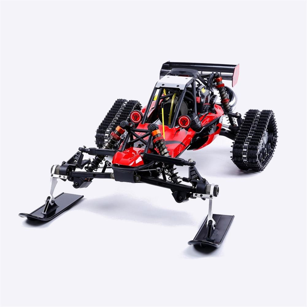 rc-cars Rovan Baja305AS 1/5 2.4G RWD Snow Buggy Rc Car 30.5cc Engine With Tracked + Round Wheels RTR Toy RC1403120 3