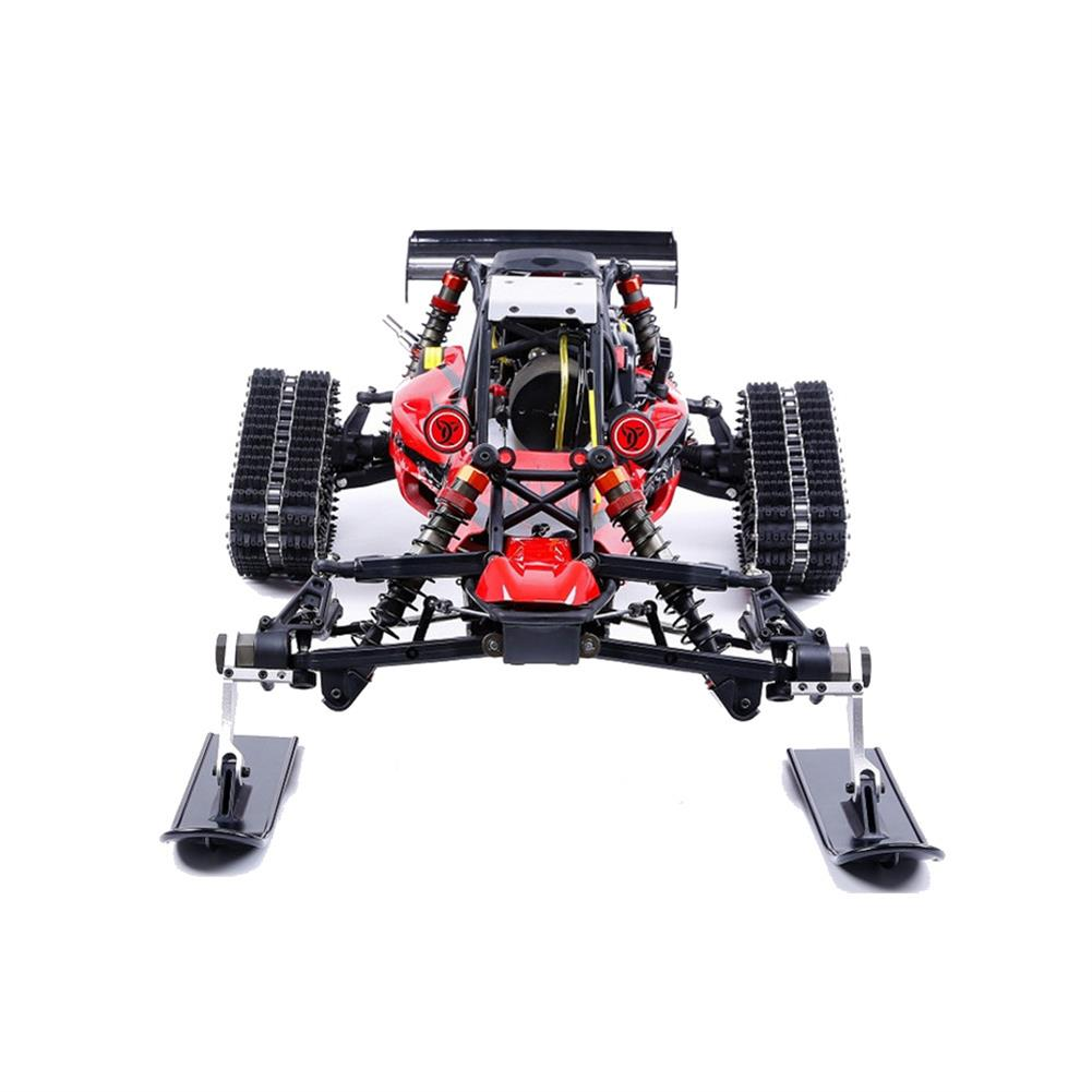 rc-cars Rovan Baja305AS 1/5 2.4G RWD Snow Buggy Rc Car 30.5cc Engine With Tracked + Round Wheels RTR Toy RC1403120 4