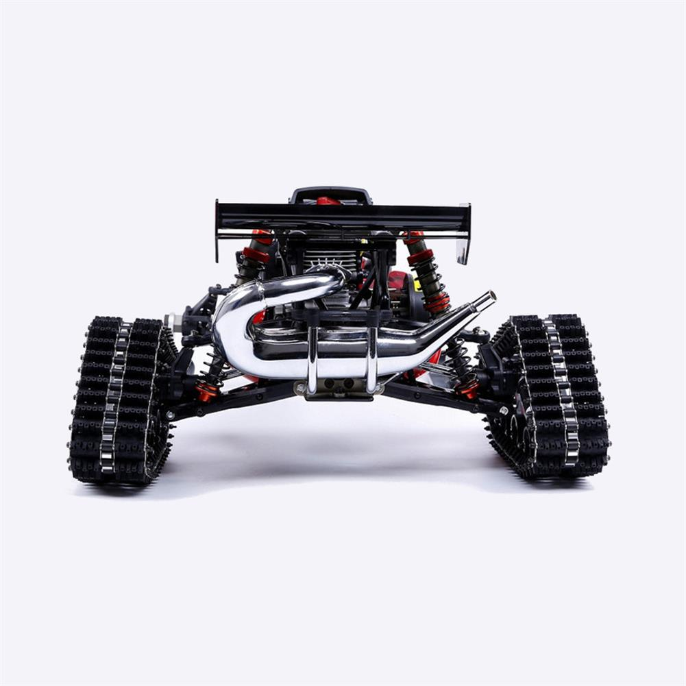 rc-cars Rovan Baja305AS 1/5 2.4G RWD Snow Buggy Rc Car 30.5cc Engine With Tracked + Round Wheels RTR Toy RC1403120 9