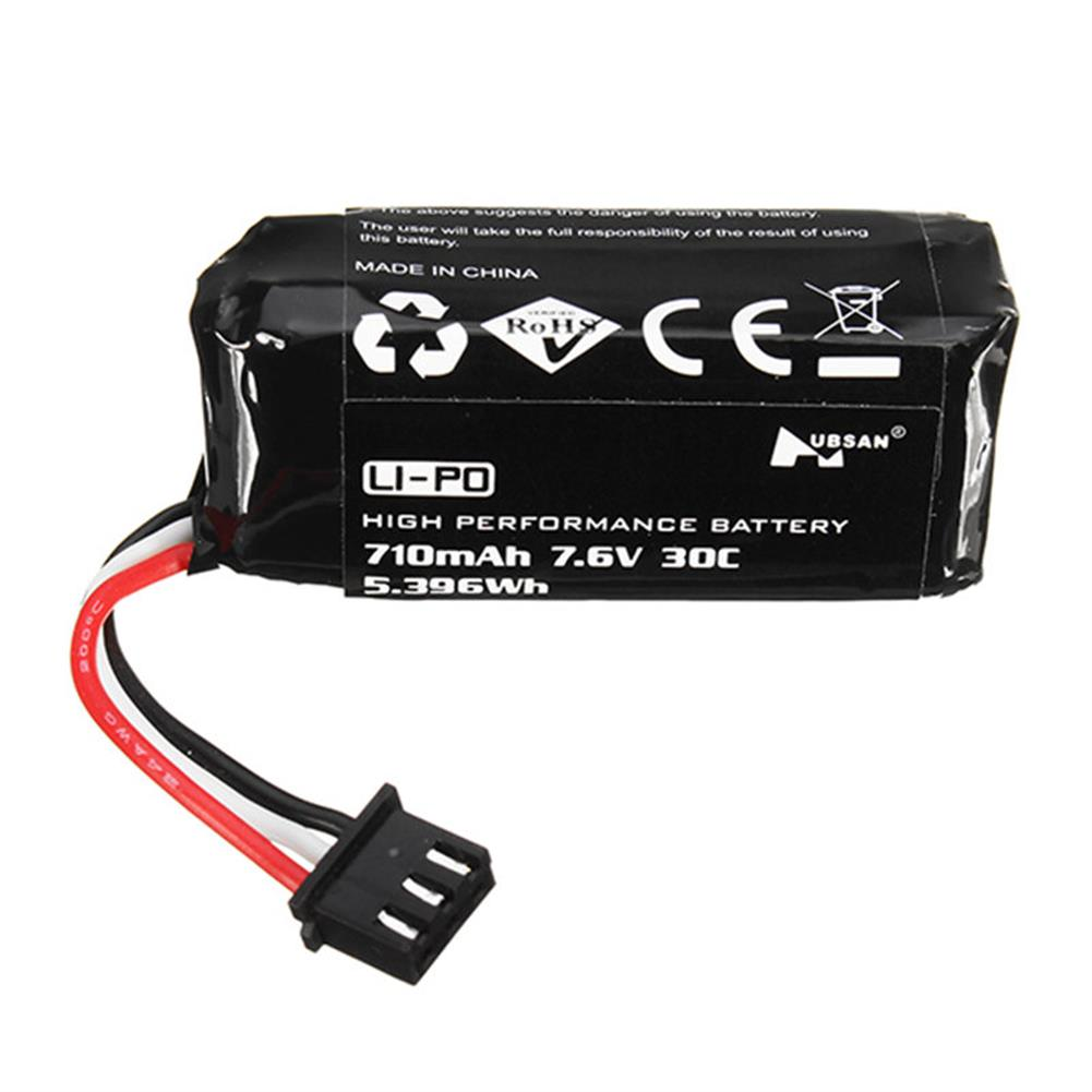 batteries-2PCS Hubsan H122D RC Quadcopter Spare Parts 7.6V 710mAh Li-Po Battery-RC1403390