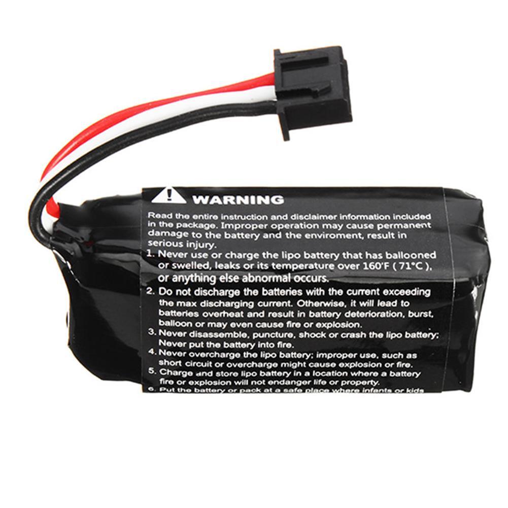 batteries-2PCS Hubsan H122D RC Quadcopter Spare Parts 7.6V 710mAh Li-Po Battery-RC1403390 2
