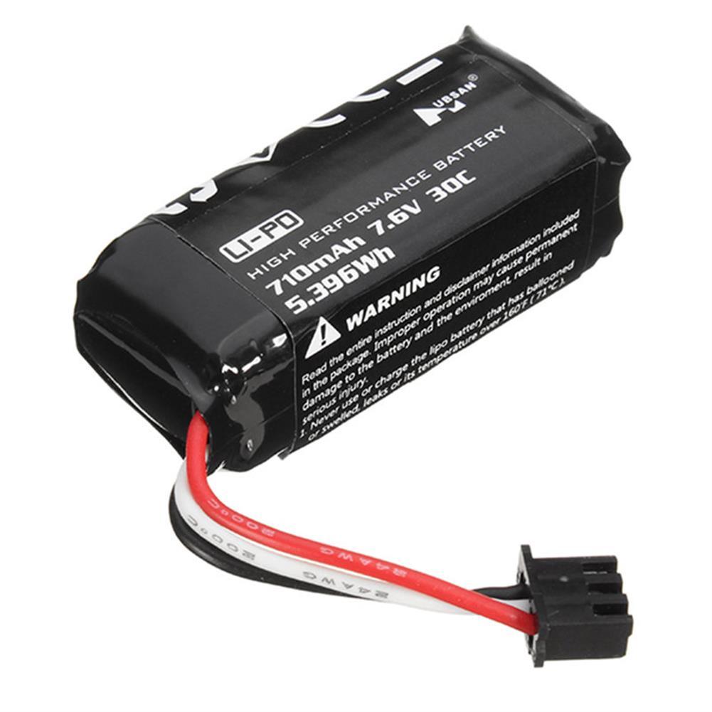 batteries-2PCS Hubsan H122D RC Quadcopter Spare Parts 7.6V 710mAh Li-Po Battery-RC1403390 3