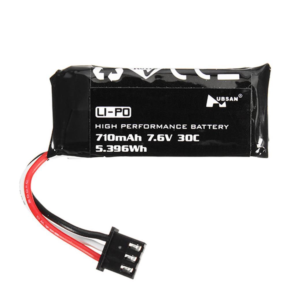 batteries-2PCS Hubsan H122D RC Quadcopter Spare Parts 7.6V 710mAh Li-Po Battery-RC1403390 4