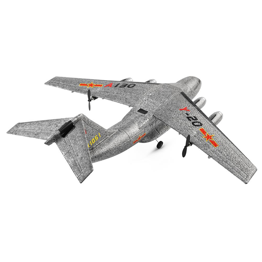 rc-airplanes XK A130-Y20 2.4G 3CH 500mm Wingspan EPP RC Airplane Fixed Wing Aircraft RTF Built-in Gyro RC1404681 3