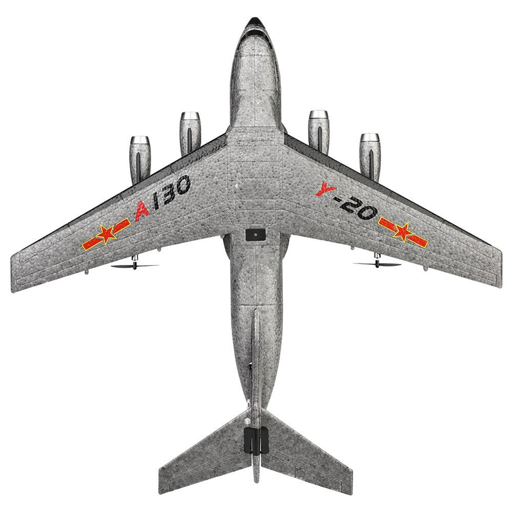 rc-airplanes XK A130-Y20 2.4G 3CH 500mm Wingspan EPP RC Airplane Fixed Wing Aircraft RTF Built-in Gyro RC1404681 6