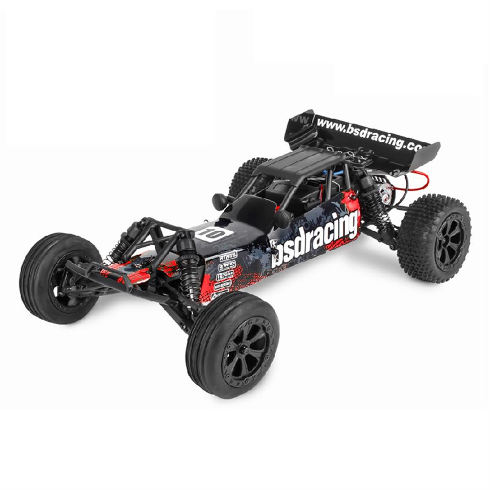 rc-cars BSD Racing CR-709T 1/10 2.4G 2WD 45km/h Brushed Rc Car EP Off-Road Baja Truck RTR Toy Random Color RC1407135