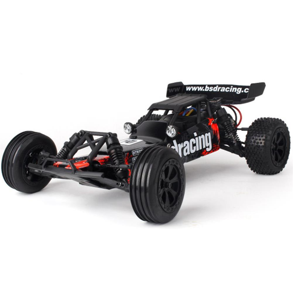rc-cars BSD Racing CR-709T 1/10 2.4G 2WD 45km/h Brushed Rc Car EP Off-Road Baja Truck RTR Toy Random Color RC1407135 1