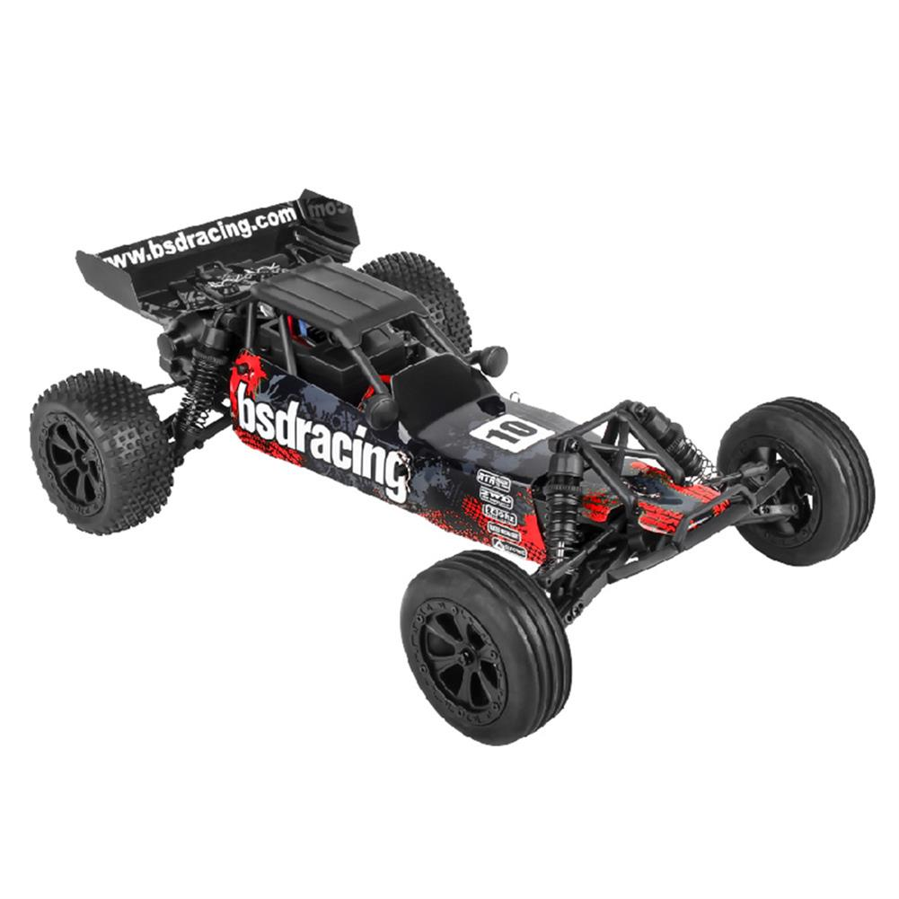 rc-cars BSD Racing CR-709T 1/10 2.4G 2WD 45km/h Brushed Rc Car EP Off-Road Baja Truck RTR Toy Random Color RC1407135 2