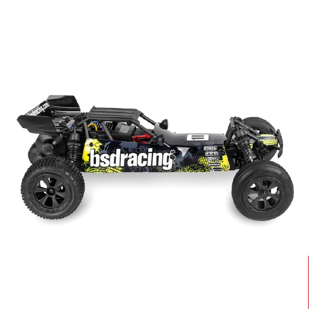 rc-cars BSD Racing CR-709T 1/10 2.4G 2WD 45km/h Brushed Rc Car EP Off-Road Baja Truck RTR Toy Random Color RC1407135 7