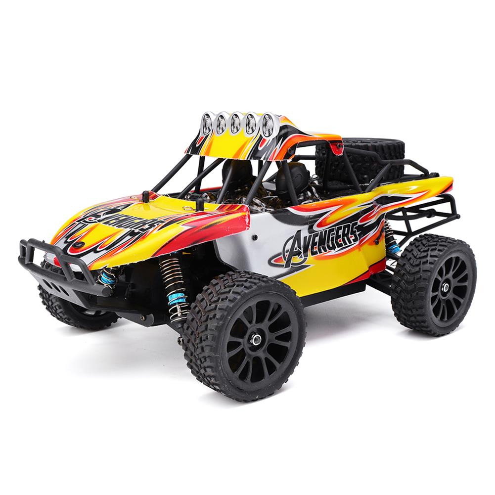 rc-cars HT C602 1/16 2.4G 4WD 35km/h Rc Car Full Proportional Desert Off-Road Truck RTR Toy RC1407693 1