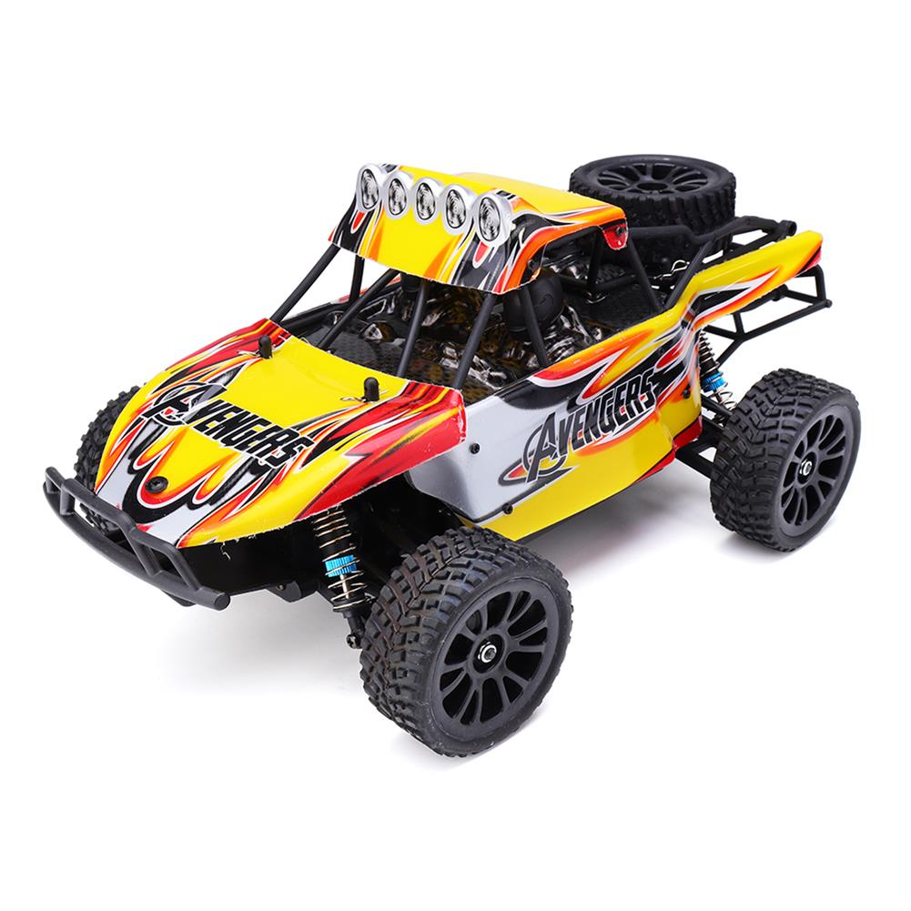 rc-cars HT C602 1/16 2.4G 4WD 35km/h Rc Car Full Proportional Desert Off-Road Truck RTR Toy RC1407693 2