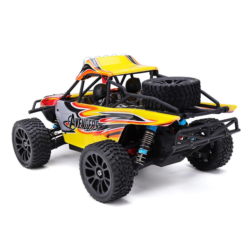 rc-cars HT C602 1/16 2.4G 4WD 35km/h Rc Car Full Proportional Desert Off-Road Truck RTR Toy RC1407693 3