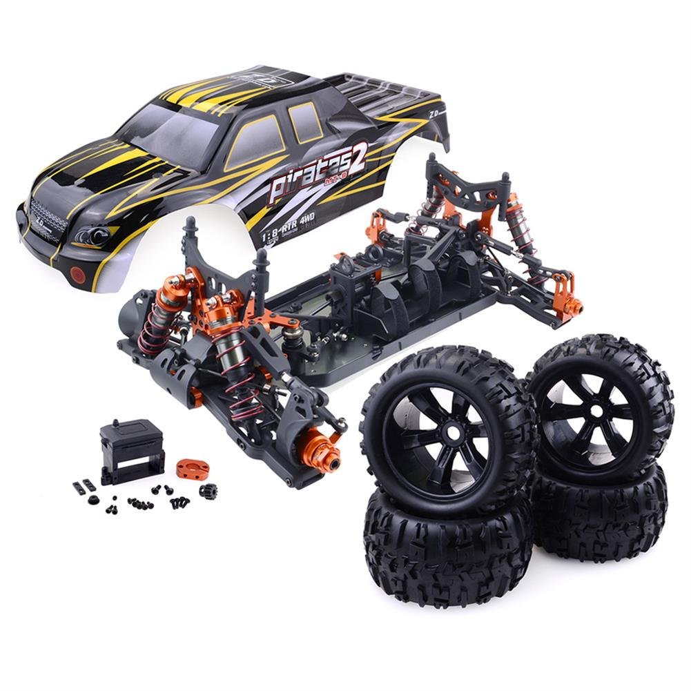 rc-cars ZD Racing 9116 1/8 4WD Brushless Electric Truck Metal Frame 100km/h RC Car Without Electric Parts RC1409804