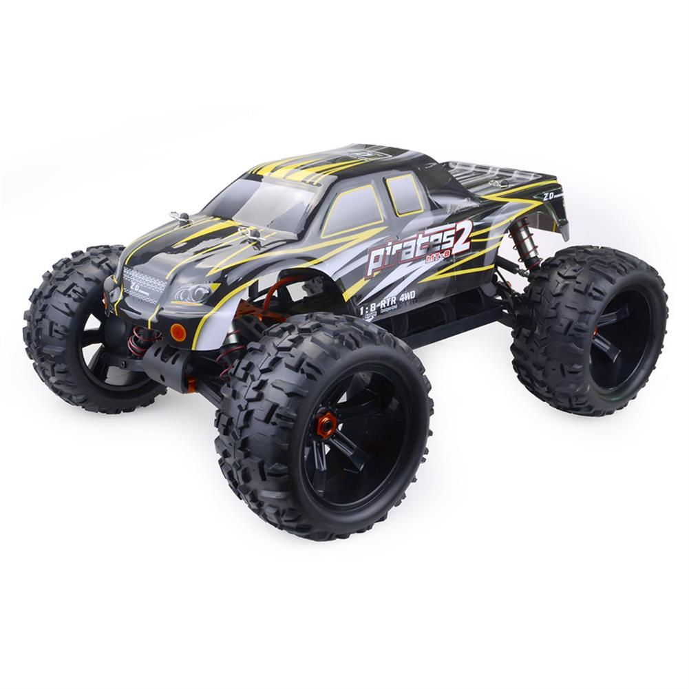 rc-cars ZD Racing 9116 1/8 4WD Brushless Electric Truck Metal Frame 100km/h RC Car Without Electric Parts RC1409804 1