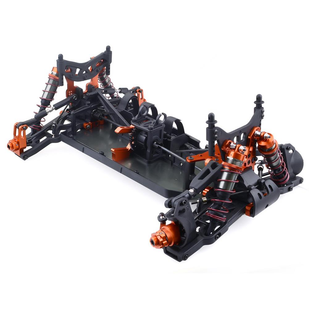 rc-cars ZD Racing 9116 1/8 4WD Brushless Electric Truck Metal Frame 100km/h RC Car Without Electric Parts RC1409804 3
