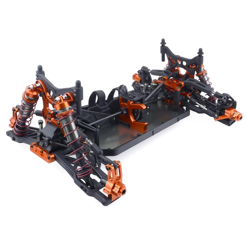 rc-cars ZD Racing 9116 1/8 4WD Brushless Electric Truck Metal Frame 100km/h RC Car Without Electric Parts RC1409804 4