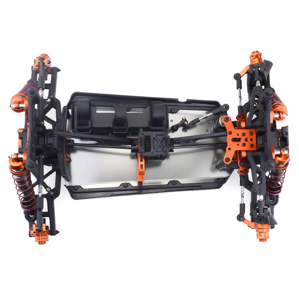 rc-cars ZD Racing 9116 1/8 4WD Brushless Electric Truck Metal Frame 100km/h RC Car Without Electric Parts RC1409804 5