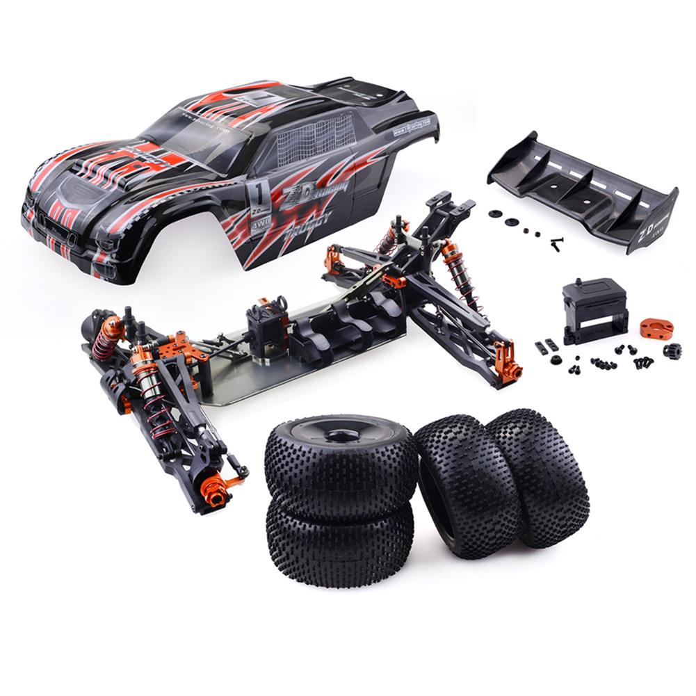 rc-cars ZD Racing 9021-V3 1/8 110km/h 4WD Brushless Truggy Frame DIY Rc Car KIT Without Electronic Parts RC1411473
