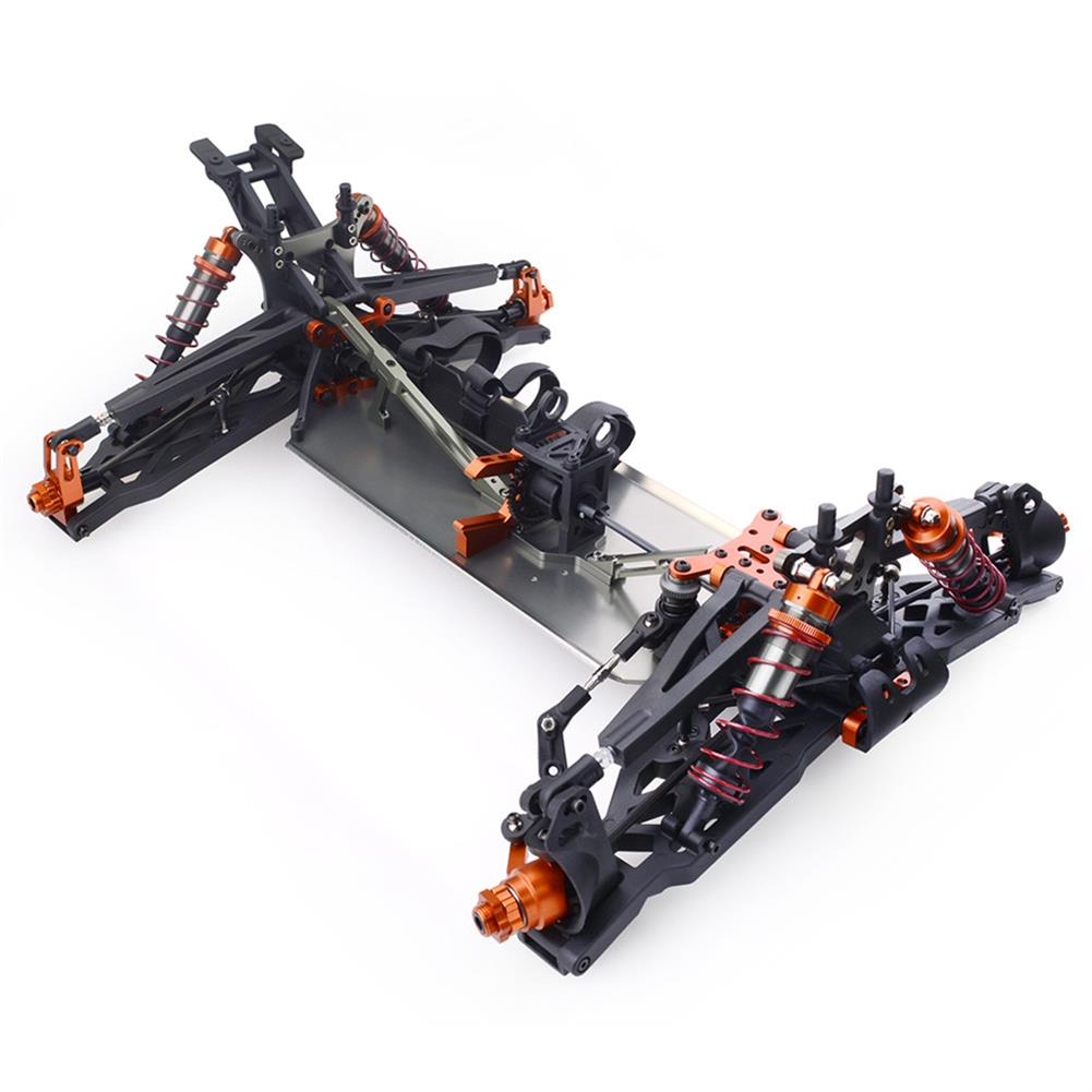 rc-cars ZD Racing 9021-V3 1/8 110km/h 4WD Brushless Truggy Frame DIY Rc Car KIT Without Electronic Parts RC1411473 4