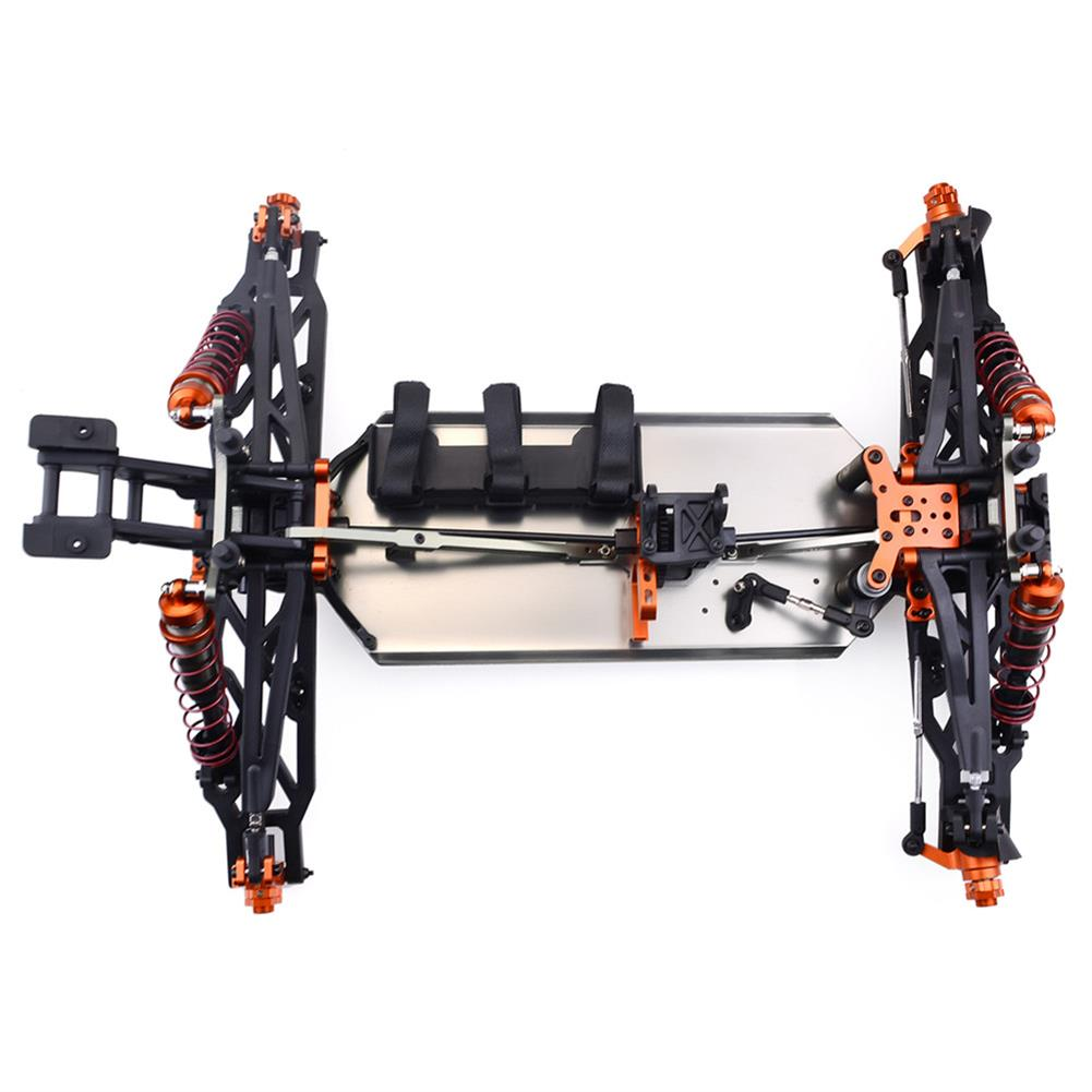 rc-cars ZD Racing 9021-V3 1/8 110km/h 4WD Brushless Truggy Frame DIY Rc Car KIT Without Electronic Parts RC1411473 5