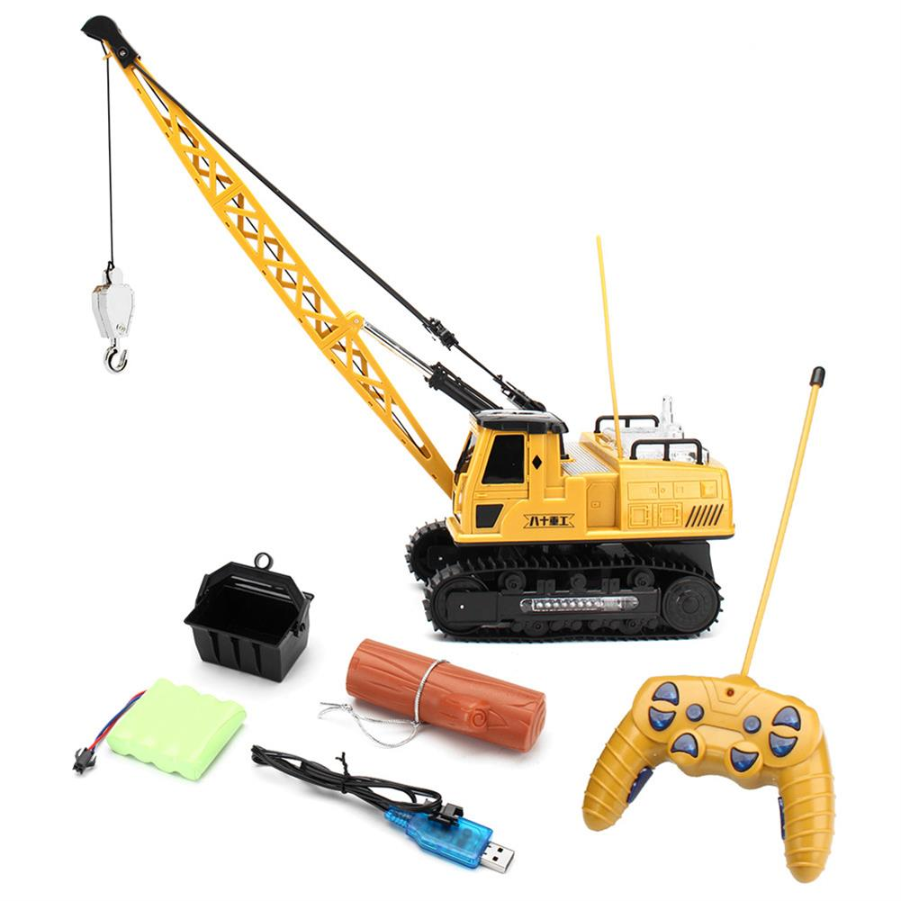rc-cars Huina Toys 91115 1/14 2.4G 12CH Rc Tower Crane 680 Degree Rotation With LED Light Model Toys RC1412325
